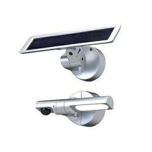 オプテックス ソーラー式LEDセンサーライト LS-10(S)【送料無料】