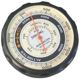 【SPALDING】スポルディング 気圧表示付高度計 ソフトケース付 日本製 NO610 /5点入り(代引き不可)