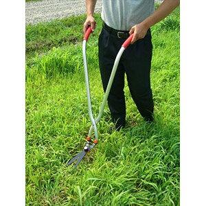 ガーデン用品 ガーデニング 芝刈り はさみ ハサミ 草刈り 芝刈り 立ち作業用草刈りハサミ 立ち作業用草刈りハサミ【送料無料】(代引き不可)