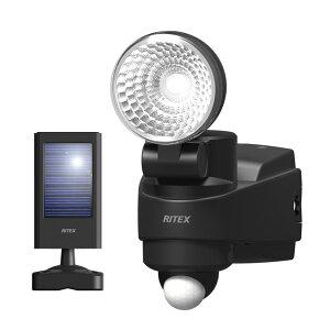 RITEX ライテック ムサシ 1W LED ハイブリッド ソーラーライト 防犯ライト ledソーラーセンサーライト 人感センサーライト 屋外(代引不可)【送料無料】