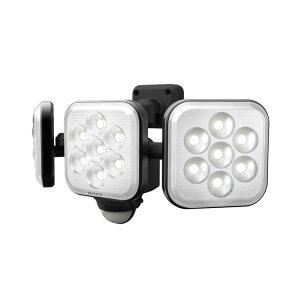 LEDセンサーライト ムサシ RITEX ライテックス LED-AC3024 コンセント式 8W×3灯 明るさ2250ルーメン フリーアーム式 人感センサーライト 屋外 防犯グッズ 防犯 玄関(代引不可)【送料無料】
