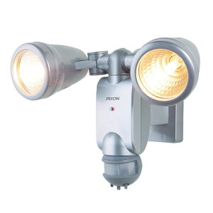 RITEX ライテック ムサシ センサーライト 180度 ハロゲン 100W×2 防犯ライト LEDライト 人感センサーライト 屋外 防犯グッズ(代引不可)【送料無料】