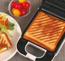 着脱式シングルホットサンドメーカー KDHS-003W 耳 6枚切り食パン対応 厚焼き プレスサンドメーカー 1枚焼き【送料無…