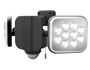 ムサシ RITEX(ライテックス) LEDコンセント式センサーライト 12W×2灯(ハロゲン400W相当) フリーアーム式 LED-AC2024【送料無料】
