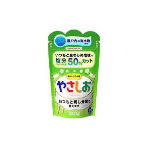【まとめ買い】 味の素 健康塩 やさしお 袋 180g x40個セット 食品 業務用 大量 まとめ セット セット売り(代引不可)【送料無料】