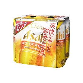 【まとめ買い】 アサヒビール(株) アサヒ クリア 6缶パック 500mlX6 x4個セット まとめ セット まとめ売り お酒 アルコール(代引不可)【送料無料】