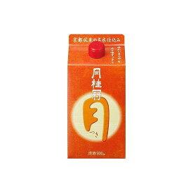 月桂冠(株) 月桂冠 定番酒 つき(月) パック 900ml x1(代引不可)