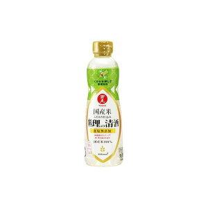 キッコーマン食品(株) 万上 国産米こだわり仕込料理の清酒 500ml x1(代引不可)