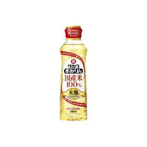 宝酒造(株) 味醂 宝 国産米本みりん米麹二段 らくらく調節ボトル 500ML(代引不可)