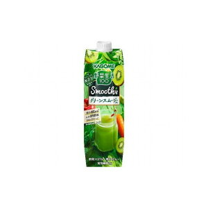 【まとめ買い】 カゴメ 野菜生活 グリーンスムージー 紙 1Kg x6個セット 食品 セット セット販売 まとめ(代引不可)【送料無料】