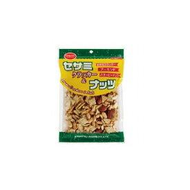 【まとめ買い】 共立食品 セサミクラッカー&ナッツ 130g x10個セット 食品 セット セット販売 まとめ(代引不可)【送料無料】