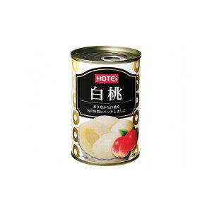 【まとめ買い】ホテイ 白桃(中国産) 4号缶 x24個セット まとめ セット セット買い 業務用(代引不可)【送料無料】