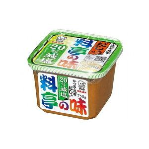【まとめ買い】マルコメ だし入り味噌 料亭の味 減塩 750g x8個セット まとめ セット セット買い 業務用(代引不可)【送料無料】