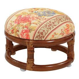 籐 正座椅子 籐家具 籐椅子 ラタン チェア イス 椅子 座椅子 正座 あぐら 肘置き フットレスト 和室 アジアン クッション(代引不可)【送料無料】