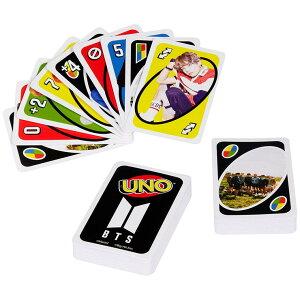 MATTEL GDG35 UNO ウノ BTSバージョン カードゲーム 防弾少年団 マテル パーティーゲーム バンタン アーミー ARMY グッズ(代引不可)【メール便配送】【送料無料】