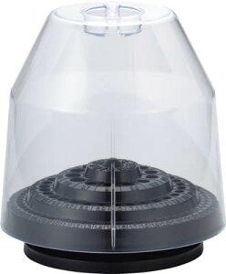 TRUSCO 回転式ドリルスタンド 100本収納 カバー付【S-13C】(穴あけ工具・ドリルケース)