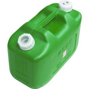 ヒシエス 軽油缶 10L グリーン KY10