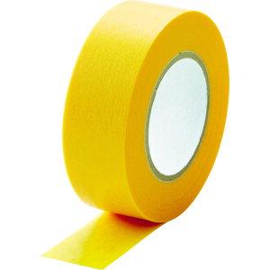 TRUSCO トラスコ 建築塗装用マスキングテープ 幅18mm長さ18m 7巻入 イエロー MTA18187Y