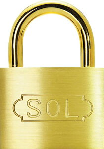 SOL シリンダー錠同一No.無25mm【2500SD-25】(建築金物・工場用間仕切り・鍵)