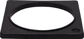 ミツギロン コーンベット2Kg 370×20 φ305【CO-BE】(安全用品・標識・カラーコーン)