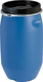 サンコー プラドラムオープンタイプPDO25L−1青【SKPDO-25L-1-BL】(ボトル・容器・ドラム缶)