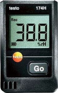 テストー ミニ温湿度データロガ【TESTO174H】(計測機器・温度計・湿度計)