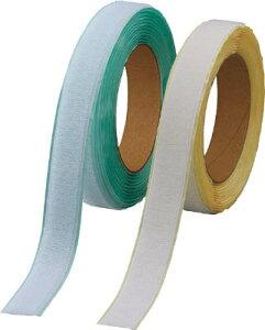 TRUSCO マジックテープ 弱粘着タイプ 50mm×5m 白【TPD-505MTS-W】(梱包結束用品・結束バンド)
