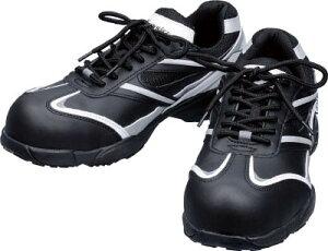 シモン プロテクティブスニーカー KA211黒 24.0cm【KA211BK-24.0】(安全靴・作業靴・プロテクティブスニーカー)
