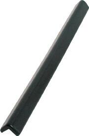 カーボーイ PUクッションL字型1000mm ブラック【PU21】(安全用品・標識・安全クッション)
