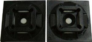 パンドウイット VHB粘着テープ付きマウントベース【SGABM20-AV-C300】(電設配線部品・ケーブルタイ)
