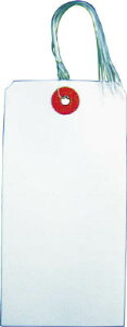 TRUSCO 針金付き荷札 120×60MM 200枚【THNF-L-200】(梱包結束用品・荷札)