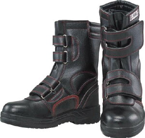おたふく 安全シューズ半長靴マジックタイプ 24.5【JW775-245】(安全靴・作業靴・プロテクティブスニーカー)
