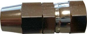 ハッコウ ソルベントホース専用継手 7.5X10.5φ用XG1/4メネジ【E-EM-75-G1/4-B】(塗装・内装用品・スプレーガン)