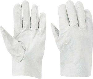 トワロン 豚革 クレスト白C(10双入)【482-C】(作業手袋・革手袋)