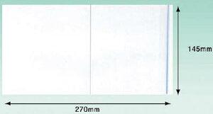 パピルス デリバリーパックポケットタイプ(長3封筒サイズ用)【PA-016T】(梱包結束用品・荷札)