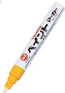 タジマ すみつけペイントマーカー硬質長【SPEM-YEL】(測量用品・建築用筆記具)