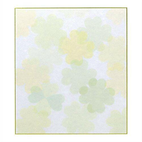 ミドリ カラー色紙クローバー 33118006