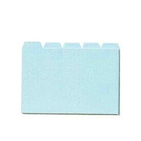 コレクト 見出カード 青 C-640-BL