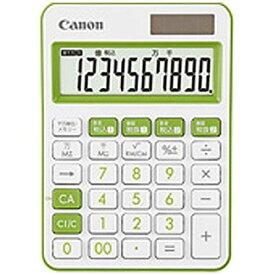 キヤノン 電卓 卓上 LS-105WUC-GR