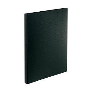 リヒト 名刺ファイル A4 300 黒 A-5042-24 1冊