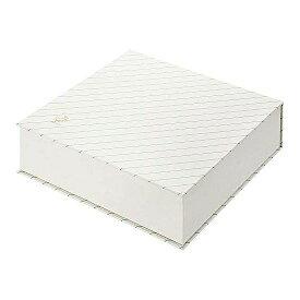キング 紙文箱 ストライプグリーン 2385-02 1個