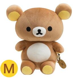 【正規販売店】 リラックマ ふっくらぬいぐるみM MF10201サンエックス 人形 ぬいぐるみ かわいい 大きい やわらかい