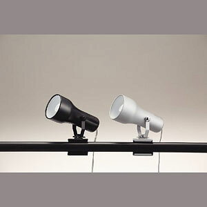 東京メタル工業 クリップライト照明 AP-400PBK 黒(代引き不可)