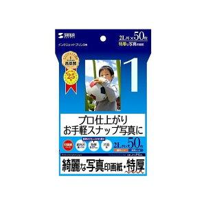 サンワサプライ インクジェット写真印画紙・特厚 JP-EP62L(代引不可)