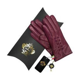 OROBIANCO オロビアンコ レディース手袋 ORL-1457 Leather glove 羊革 ウール PURPLE サイズ:7(20cm) プレゼント クリスマス【送料無料】