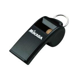 ミカサ(MIKASA) アクセサリー ホイッスル(コルク入り) ブラック PUL10BK