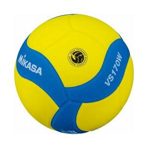 ミカサ(MIKASA) MIKASA ミカサ スマイルバレーボール5号球 FIVB公認スマイルバレー5号 イエロー×ブルー VS170WYBL