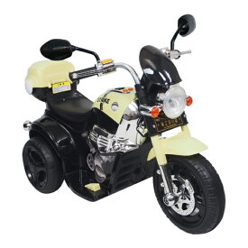 電動乗用バイク ブラック ホワイト 充電器付き CBK-014 子供用 乗用 プレゼント ギフト おもちゃ バイク カッコいい【送料無料】【S1】