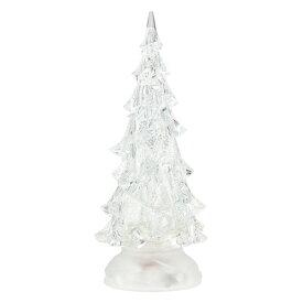 LED キラキラスノーツリー LEDウォーターツリー クリスマスツリー ミニツリー 卓上 ツリー イルミネーション WDL-1854【送料無料】