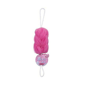 オーエ ホイップル ロング やわらか 泡立て ネット ピンク 約42×10×10cm もこもこ 洗える